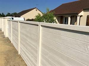 Cloture Béton Préfabriqué Tarif : pin cloture beton aspect bois on pinterest ~ Edinachiropracticcenter.com Idées de Décoration
