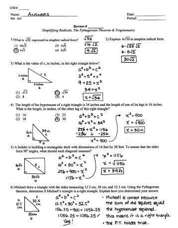 trigonometry review pdf amulette