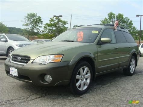 outback subaru green 2006 willow green opalescent subaru outback 2 5i limited