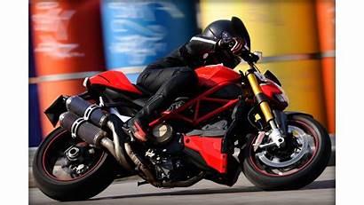 Blur Motion Naked Ducati Sportbike Streetfighter Desktop