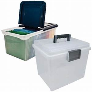 bins totes containers boxes record storage plastic With letter legal size plastic storage tote