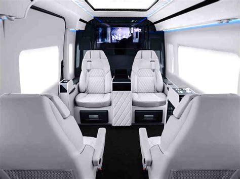 customized mercedes vans interiors  put