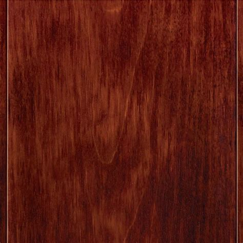 red birch engineered hardwood home legend high gloss birch cherry 3 8 in t x 4 3 4 in w x varying length click lock hardwood