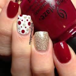Most stylish christmas nail art