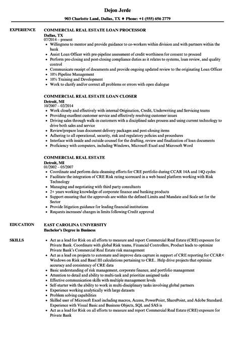 Real Estate Resume by Commercial Real Estate Resume Sles Velvet
