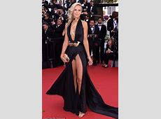 Lady Victoria Hervey flashes her underwear at Cannes in