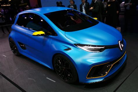 renault zoe  sport  pictures auto express