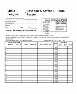 little league lineup template pokemon go search for With t ball lineup template