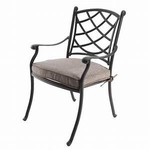 Fauteuil Fer Forgé : fauteuil de jardin style fer forg rosali anthracite chaise et fauteuil de jardin eminza ~ Melissatoandfro.com Idées de Décoration