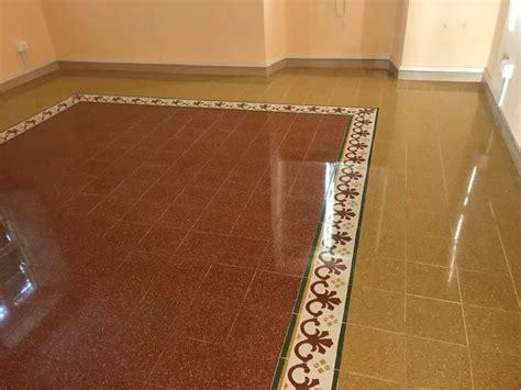 lucidare pavimento graniglia pavimento in graniglia brocchini marmi