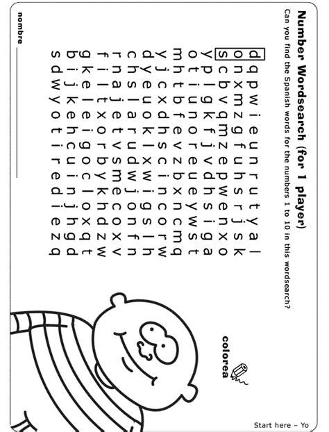 bbc schools primary spanish worksheet