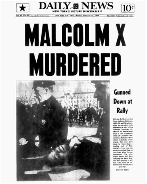 Image result for Malcolm X was assassinated