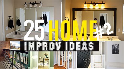 25 Home Improvement Ideas #2  Youtube