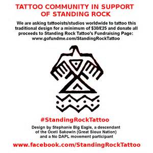 Standing Meaning by Tattoos In Support Of Standing Rock By Stephanie Big Eagle