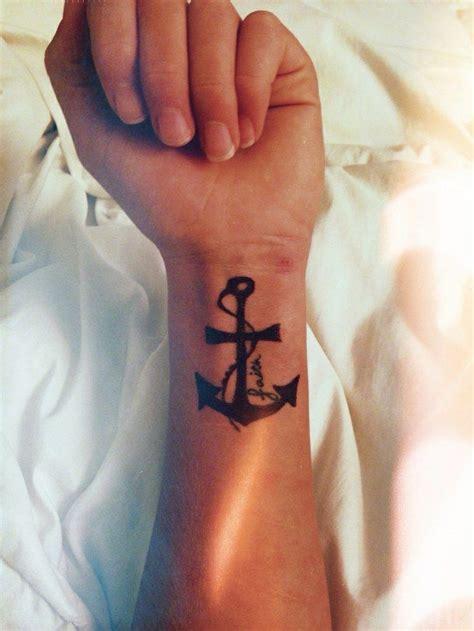 anchor wrist tattoo designs ideas  meaning tattoos