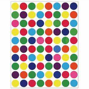 colored circle 1 2quot stickers circle stickers hygloss With colored circle labels