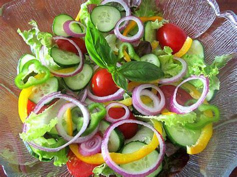 cuisine soulef recettes de salade composée et poivrons