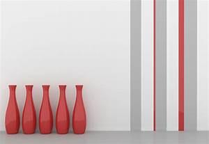 Ideen Wand Streichen : wand streichen ideen f r muster farben streifen ~ Lizthompson.info Haus und Dekorationen