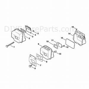 Stihl Ms 170 Chainsaw  Ms170  Parts Diagram  Muffler