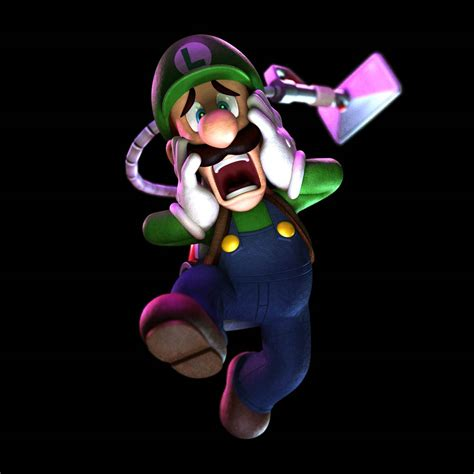 Luigis Mansion Dark Moon 3 Pieces Of Artwork