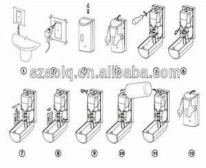 Toilet Seat Sanitizer Spray Dispenser Auto Hand