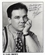 W. Earl Brown Autographed Signed 8 by 10 photo with COA ...