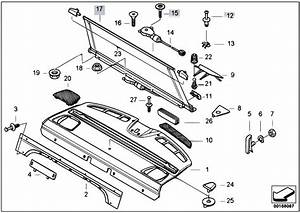 Original Parts For E39 M5 S62 Sedan    Vehicle Trim   Parcel