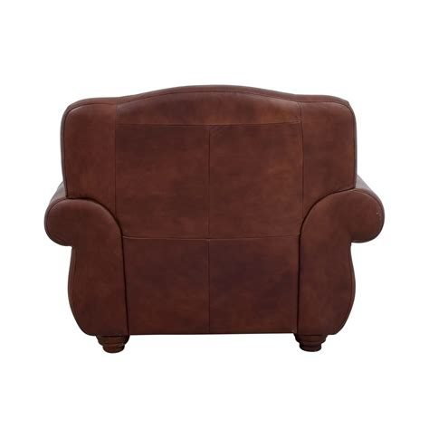 brown leather chair and ottoman 54 off rooms to go rooms to go brown leather chair and