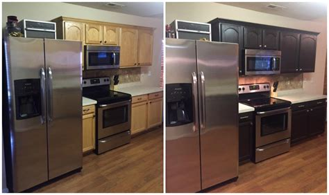 diy kitchen cabinet painting before and after diy painting kitchen cabinets before and after pics 152