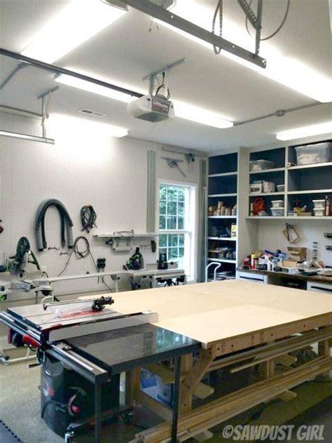 led shop lights ideas  pinterest led garage