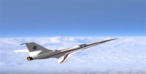 Nasa's Aeronautics Research Is Building Quiet Supersonic X