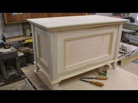 build your own tv lift a blanket chest chest part 2 the top