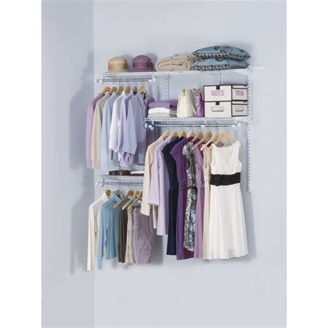 Lowes Rubbermaid Closet Kit by Closet Organizers Systems Doors Storage Accessories