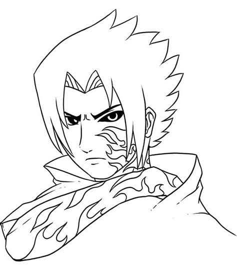 gambar mewarnai anak sasuke belajarmewarnai info