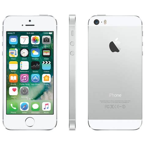 buy new iphone 5s apple iphone 5s 16gb smartphone silver carrier sim