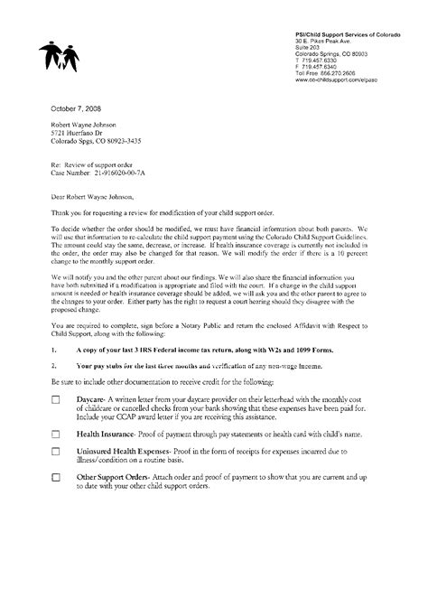 proof  child care expenses letter zomkofacachorg
