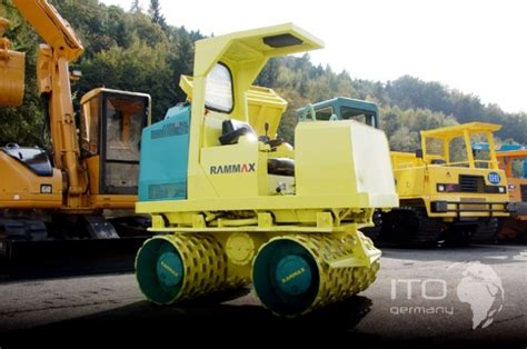 gebraucht roller händler used trenchroller rammax rw2000hf