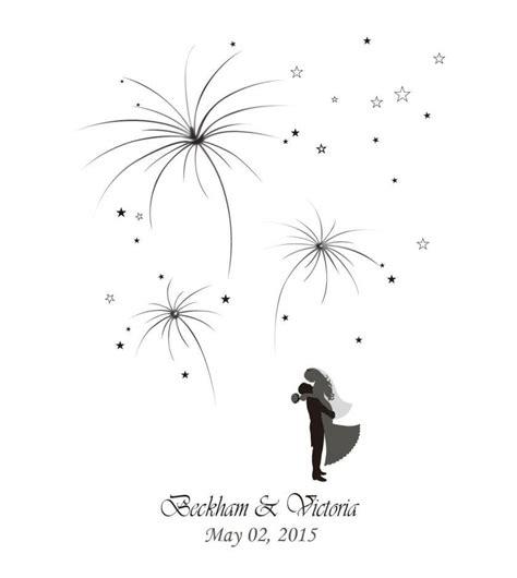 2019 firework prints fingerprint wedding tree guest bookde wedding thumbprint tree guestbook