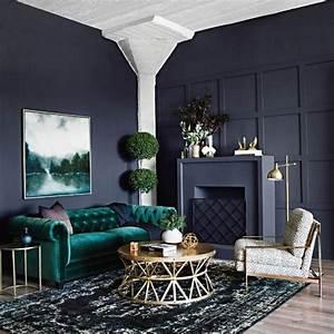 Welche Farbe Für Wohnzimmer : welche farbe passt zu gr n tipps f r gelungene farbkombinationen mit gr n in der ~ Orissabook.com Haus und Dekorationen