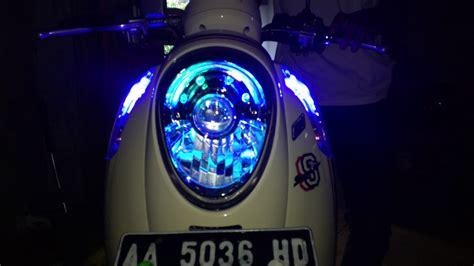 Lu Stop Led Scoopy Fi lighting modifikasi honda scoopy fi