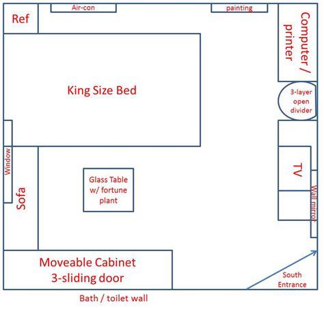 feng shui bedroom layout chart folat