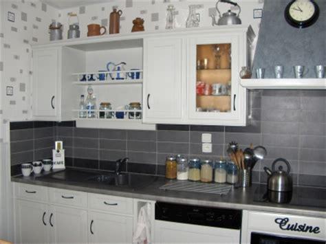 deco cuisine gris et noir deco cuisine noir blanc gris