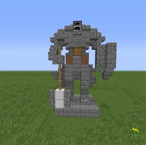 knight mini statue  grabcraft  number  source