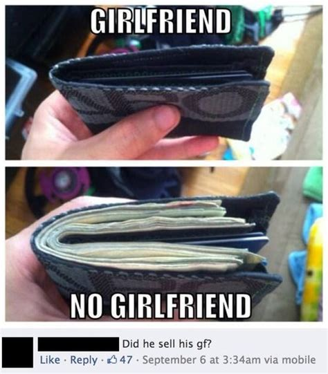 No Gf Meme - funny girlfriend vs no girlfriend jpg