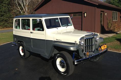 jeep willys wagon for sale gorgeous 1959 jeep willys station wagon will make you miss