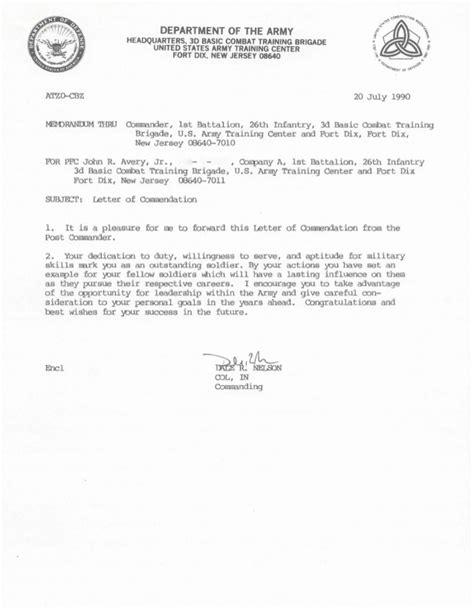 letter of commendation letter of commendation army 7 20 90 pdf for jra