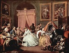 Marriage à la Mode: The Toilette by William Hogarth | my ...