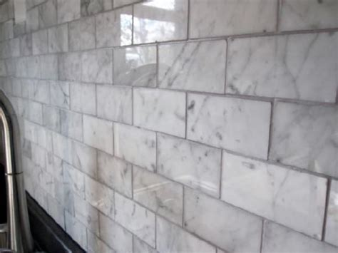 carrara subway tiles home depot square foot