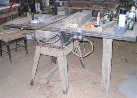 for sale craftsman 113 tablesaw moved to craigslist