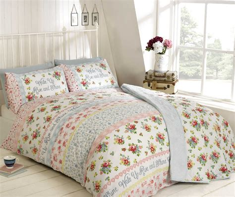 Country Duvet Covers by Floral Quilt Duvet Cover Pillowcase Bedding Bed Set